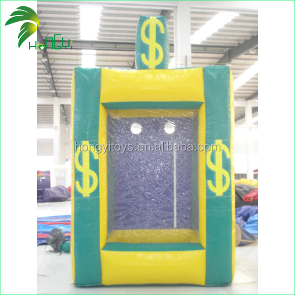 Interesting High Quality Dollar Print Custom Large Kid Inflatable Toys Funny