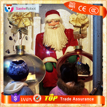 china supplier handmade animatronic christmas santa claus decoration - Animatronic Christmas Decorations