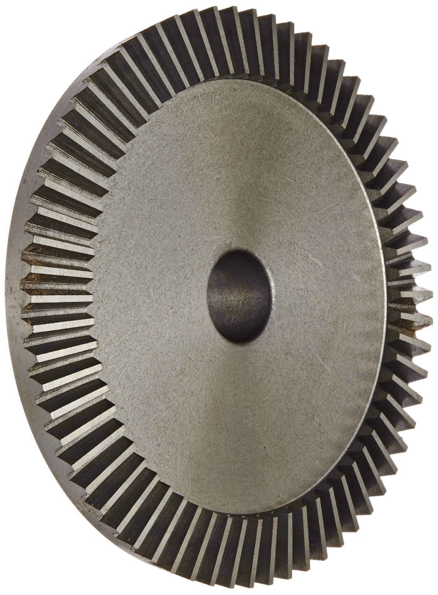 "Boston Gear PA4416Y-G Bevel Gear, 4:1 Ratio, 0.625"" Bore, 16 Pitch, 64 Teeth, 20 Degree Pressure Angle, Straight Bevel, Cast Iron"