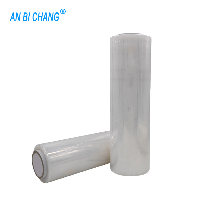 "Hand Stretch <strong>Film</strong> Shrink Wrap 18"" x 1500 ft Shipping Clear Plastic Wrap"