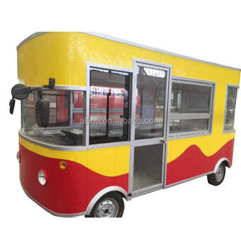 2018 mobile stainless steel small food truck