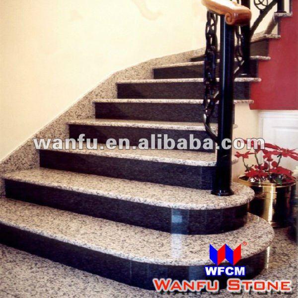 Modern Bullnose Granite Stair Tread   Buy Granite Stair Tread,Modern Stair  Treads,Stair Step Design Product On Alibaba.com