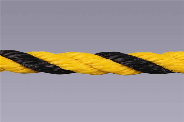 pe recycle tiger rope for malaysia and indonesia market for warning