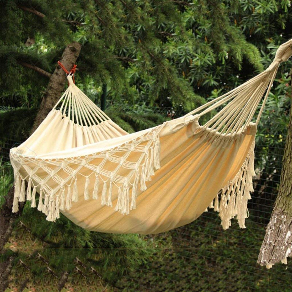 Ren Chang Jia Shi Pin Firm Hammock outdoor hammock indoor children adult swing double home cotton swing