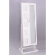 Floor Standing Cosmetics Cabinet Jewelry Storage Cabinet With Dressing Mirror And Photo Frame