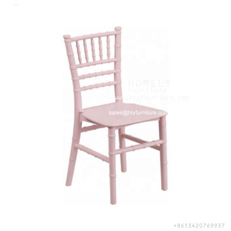 Wholesale Low Price Factory Selling Durable kids Chiavari Chair