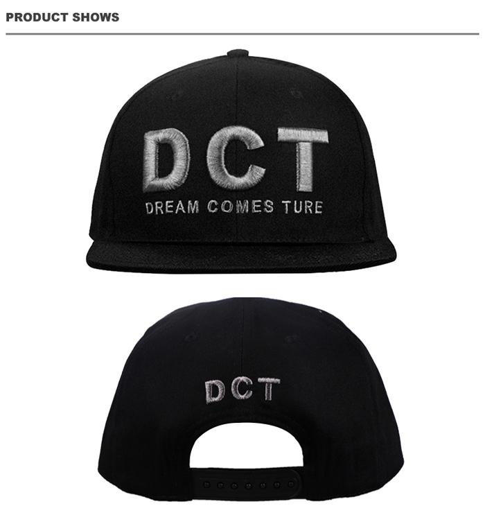 wholesale black plain blank customize snap back snapback hats caps 091e8e60d49