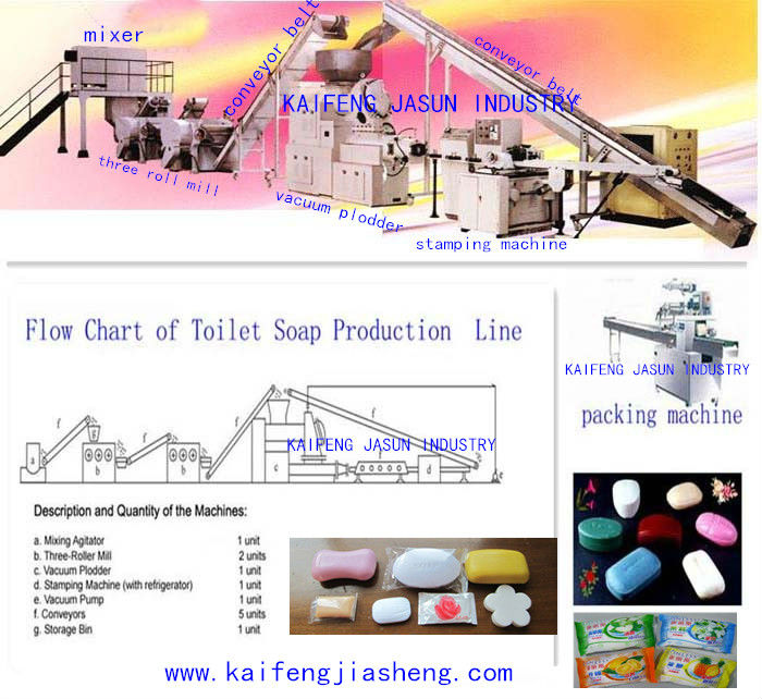 soap production line, toilet soap production line,laundry soap production line