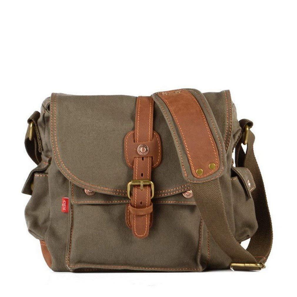 Get Quotations · MCNFJD Men Canvas Messenger Bags Designer Vintage  Crossbody Bags Laptop Bags Male Military Handbags Satchel Shoulder 47706b671b0fc