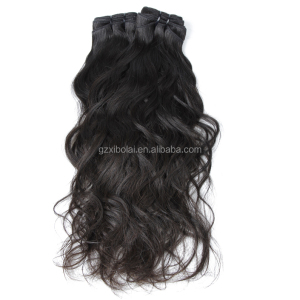 Wholesale 100% Virgin Indian Remy Temple Hair No Tangle No Shedding Raw Unprocessed Water Wave Hair