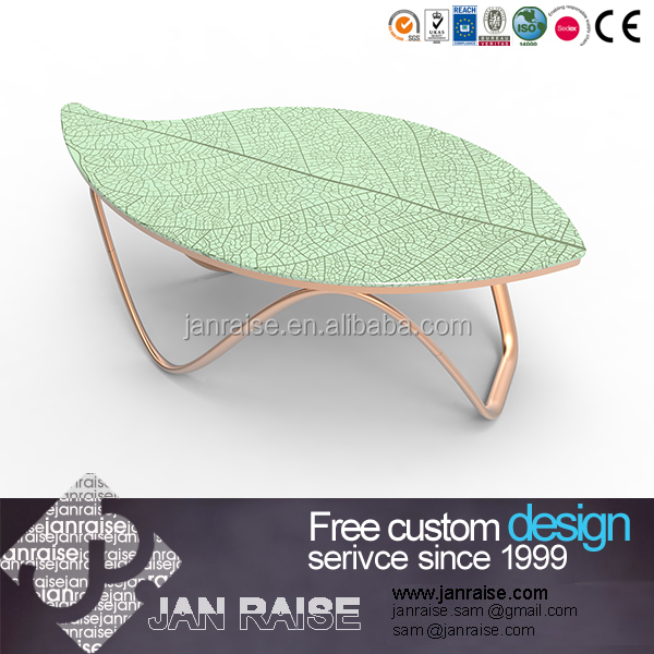 Easy to assembled cheap price glass high gloss coffee table, tea table