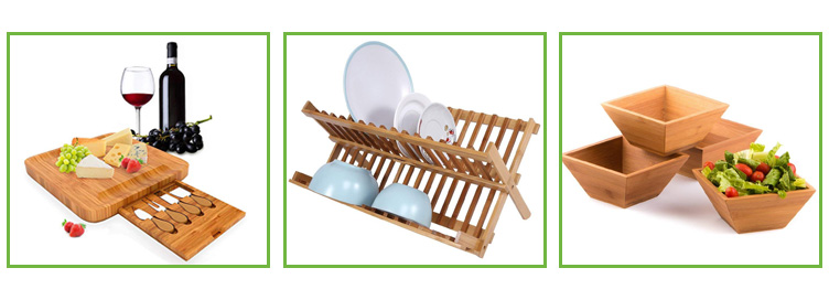 High Quality Bamboo Utensil Holder Utensil Dividers for Flatware And Kitchen Utensils