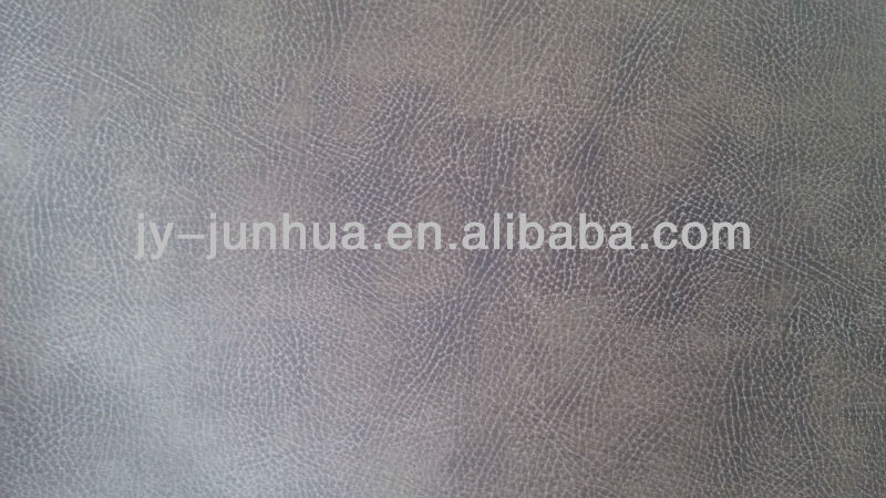 imitation animals leather with flocking material for sofa car seat furniture