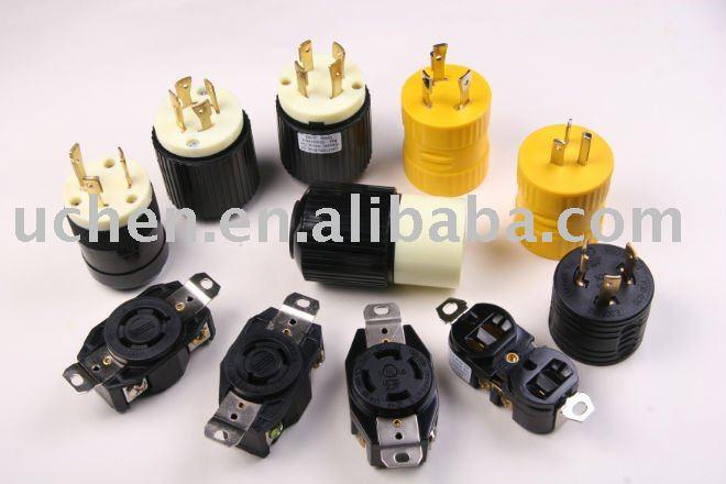Nema Series L5-15/20/30r Plug And Receptacle - Buy Nema L5-30p Plug ...