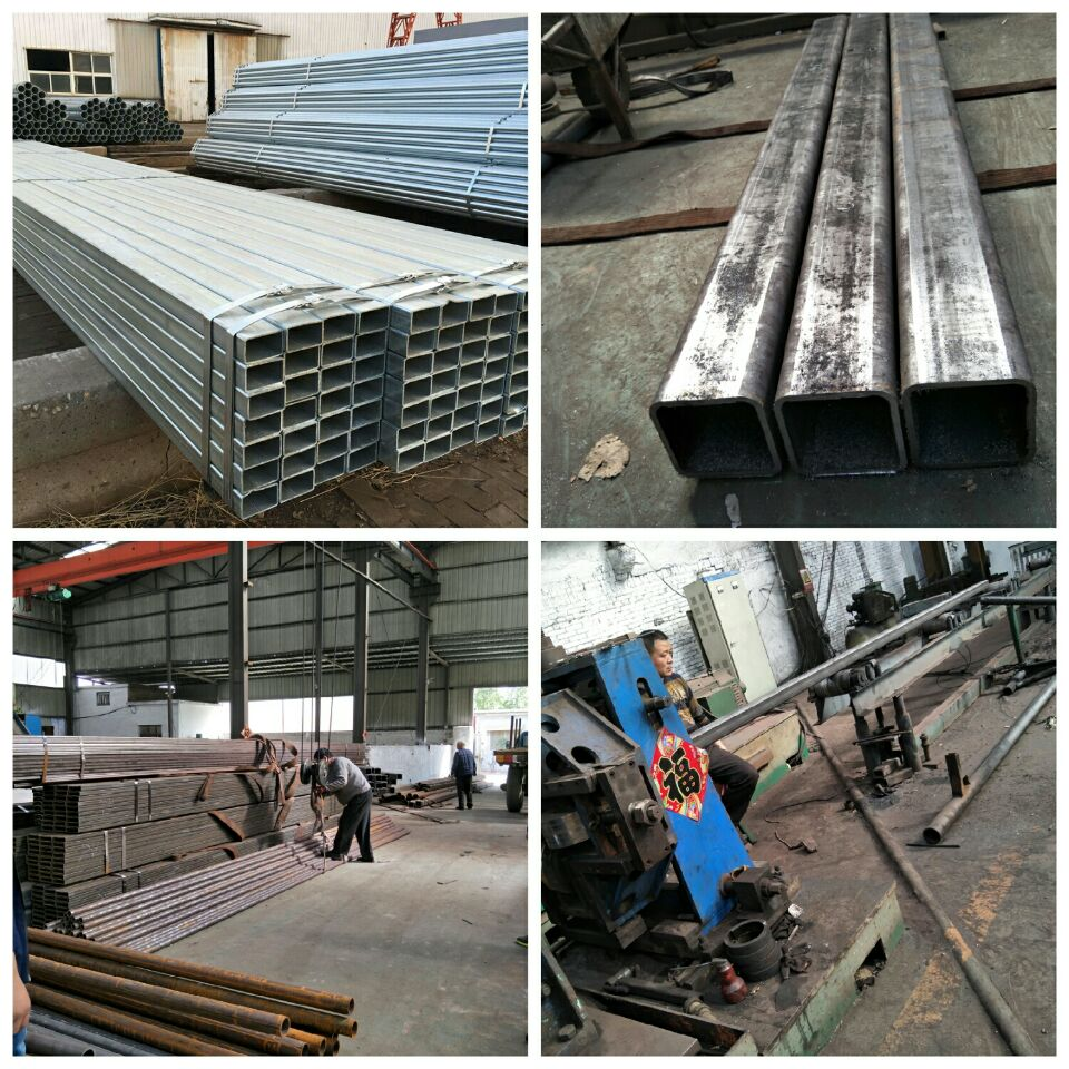 high quality rectangular and carbon 4 inch square steel pipe