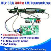 FMUSER FSN-350K 350W FM mini radio station Assemble PCB DIY Kit Amp+Control+LCD Display-RC4