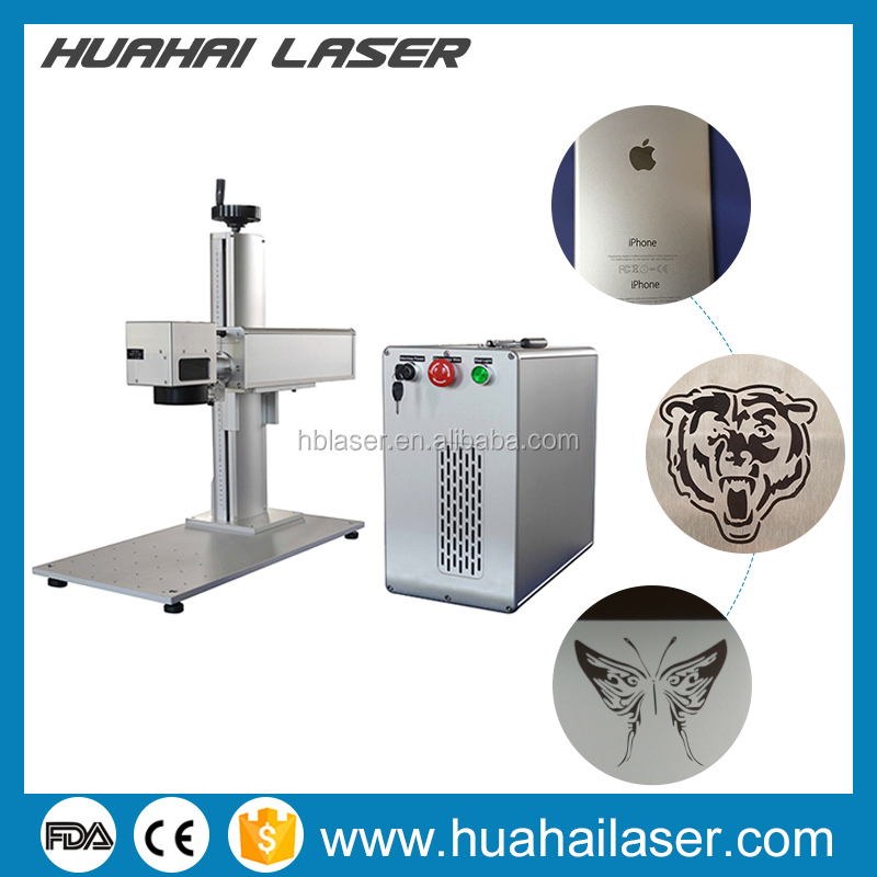 20w 30w mopa fiber laser marker for iphone and colorful marking