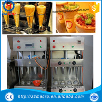 Stainless steel automatic pizza cone making machine