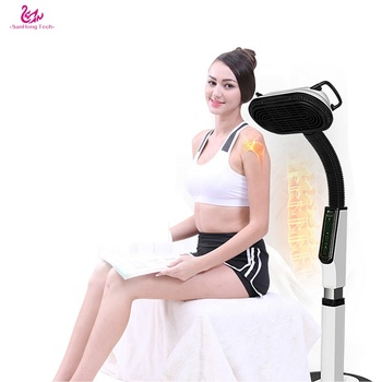 Back  Massager Body Muscle pain Relief device Relax far infrared electromagnetic wave therapy machine