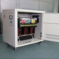 20kva dry type 3 phase 220v to 380v step up voltage transformer ac electric power transformer