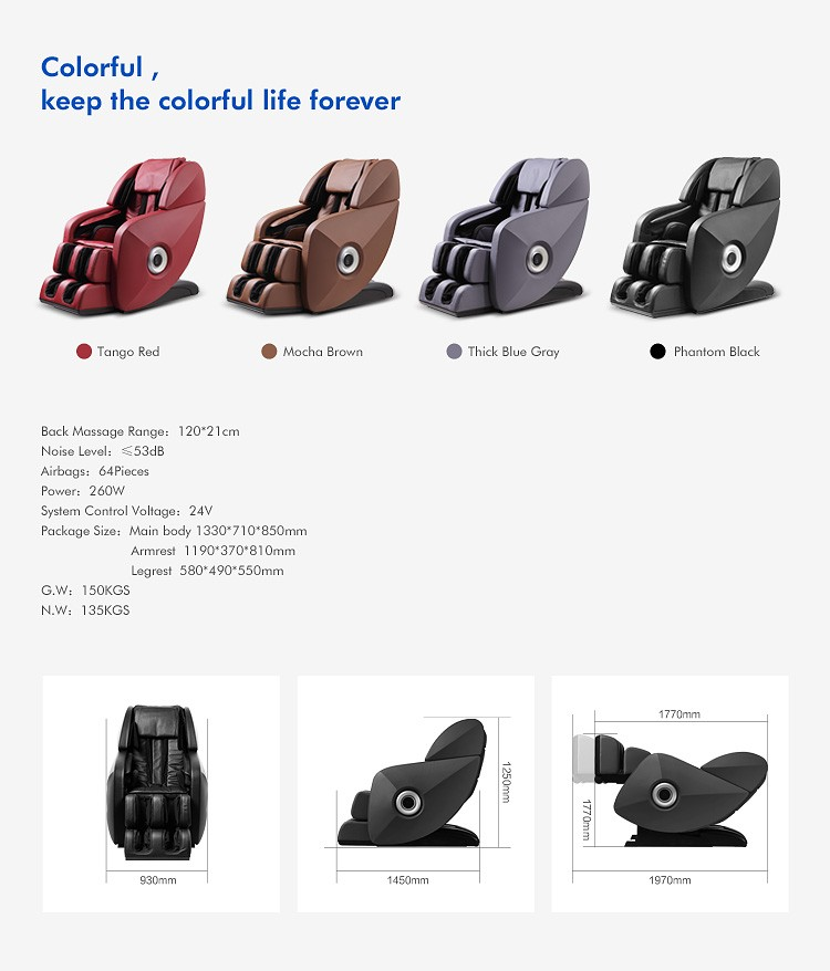2019 full body healthcare massage Massage Chair