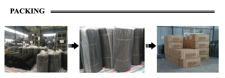 Wholesale acf felt activated fabric with cheap price