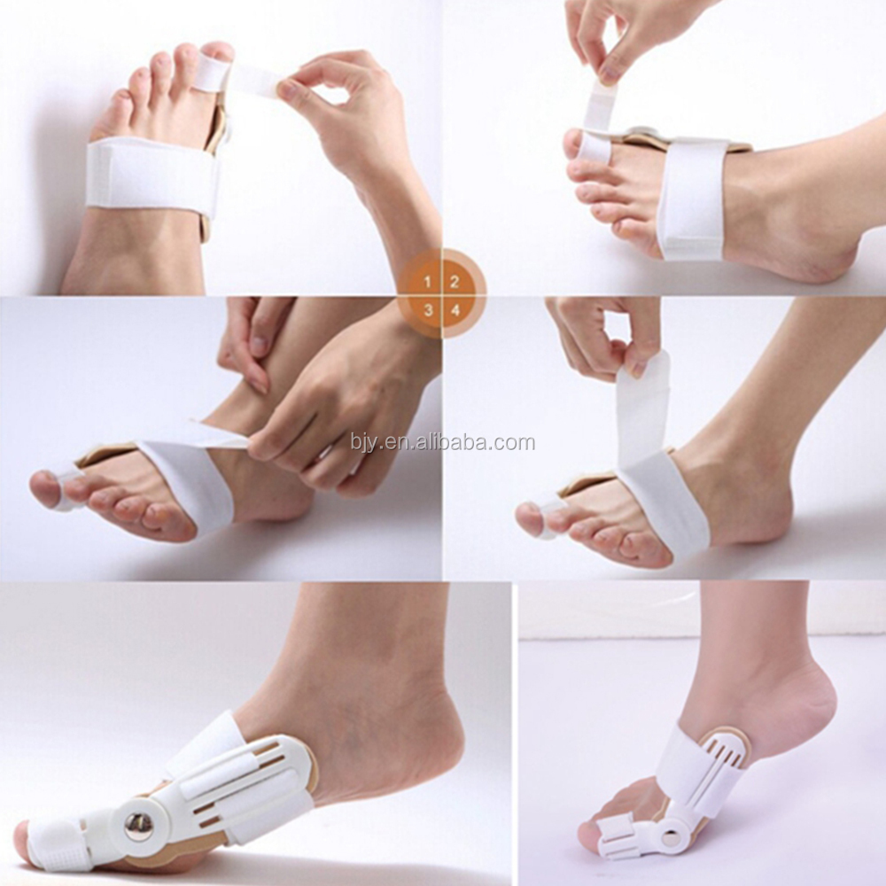New Foot Care Pain Relief Bunion Adjustable Splint Brace Hallux Valgus Orthotics