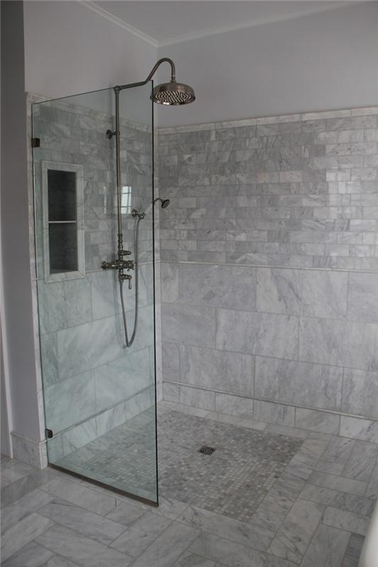 Cheap building material natural stone bossy grey marble tile floors