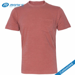 Custom Cheap Blank Pocket High Quality T Shirt Wholesale In Europe