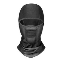 custom cold weather windproof motorcycle ski half face mask cycling skull balaclavas