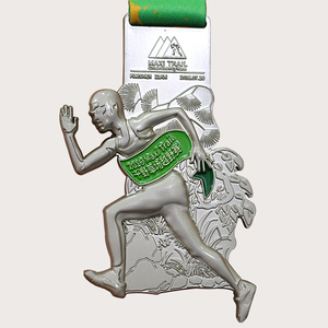 Factory hot sales custom marathon medal souvenir , awards medal stand, metal medal producer