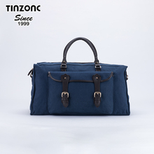 Travel Duffel Canvas&Leather Gym Bag Overnight Weekender Bags women men