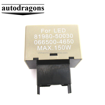 81980-50030 de 8 pines LED Flasher Relay para Toyota Lexus de señal de vuelta de las luces de Flash arreglar
