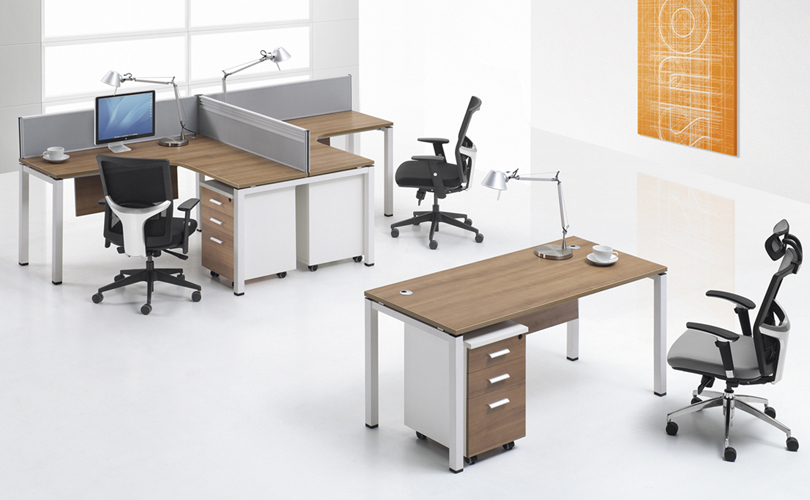 Cf L Shape Workstation Seater Desk For Small Office Furniture