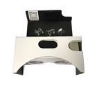 White VR Cardboard Virtual Reality Camera Viewer 3D Google Cardboard