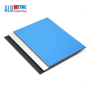 Manufacturer Price 1250mm Width Cheap Price Aludecor Acp Sheet For Outdoor Decoration