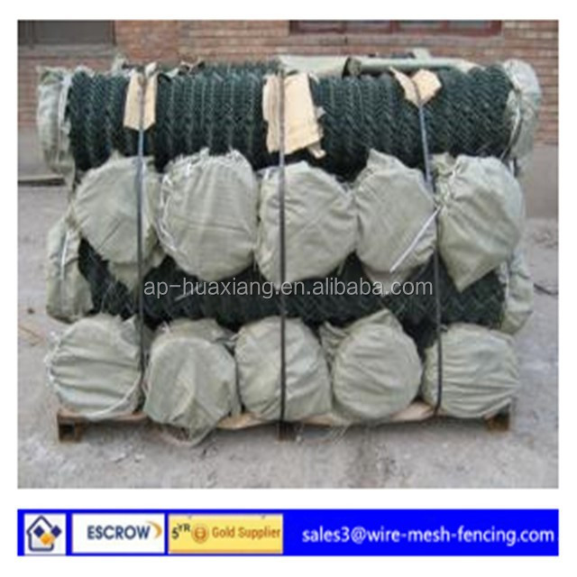 Factory price with 2.5MM Wire Diameter 50x50MM Mesh Opening PVC Coated Chain Link Fence