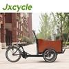 Newstyle high quality and technical environmental three wheel bicycle with cargo box for family