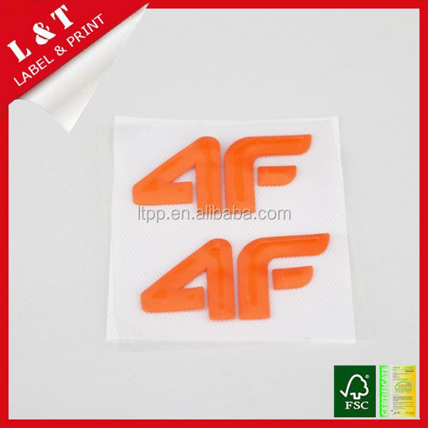 Customer printed heat transfer sticker for children's garments