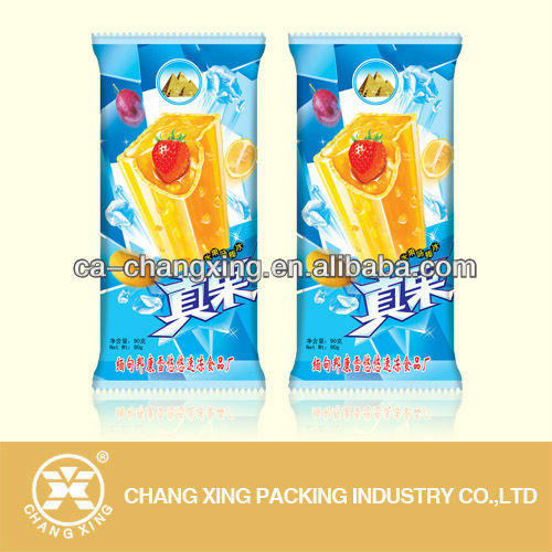 plastic popsicle bags printed icepop packaging film