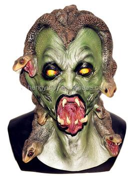 Halloween Maschere.Orrore Medusa Realistico Paura Di Gomma Fantasma Di Halloween Maschera Buy Paura Maschera Medusa Maschere Fantasma Di Halloween Maschere Product On