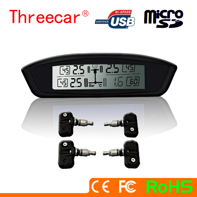 2013 Pressure Monitoring Newest Tire TPMS system with LED screen & tire pressure control system