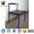 Wholesale outdoor furniture black cow horn metal dining chair