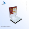 Best selling acrylic manufacture colorful printed advertising desk display stand