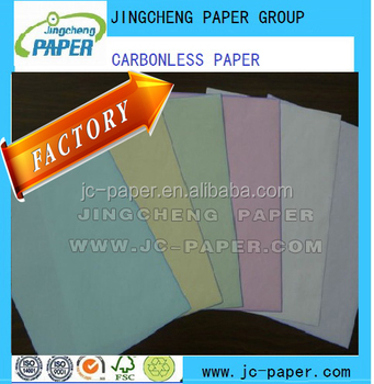 SC PAPER ( self contained paper/self copy paper )