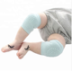 Wholesale High quality Children knee support for kids Soft Fabric Cotton Knitted Baby Crawling Knee Pad