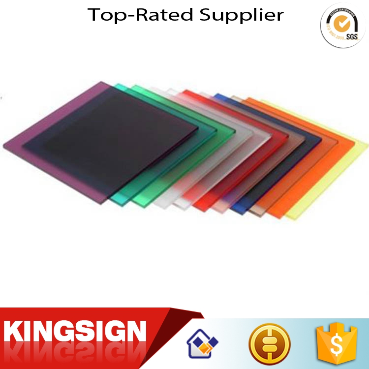 Most popular creative quality acrylic petg casting resin panel