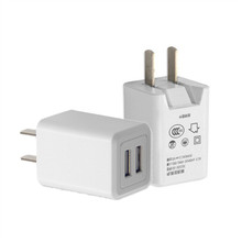 Reversible 2 port dual USB mobile phone usb charger high speed charger for mobile phone