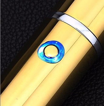 Windproof Cigar Lighters Electronic LED USB Smoke lighter