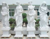 Statue European style marble statue for garden buddha statue for temple